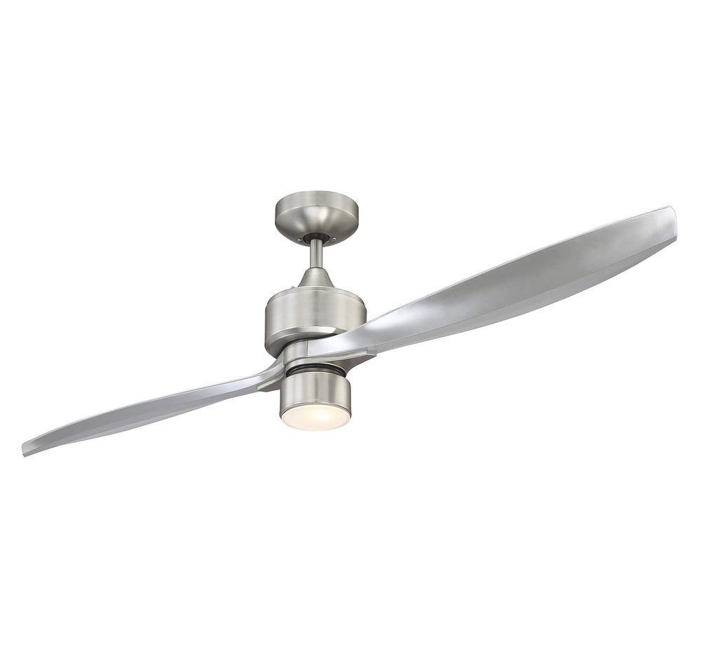 Payson 56 2 Blade Ceiling Fan 56 5065 2sv Sn Cregger Lighting